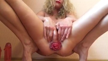 Anal play, fisting and stretching holes