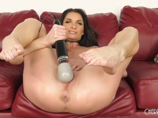 Big Tit MILF Silvia Saige Enjoys Playing With A Bunch Of Toys And Her Pussy