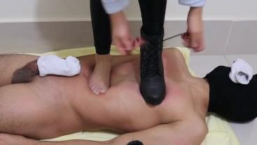 Goddess JMACC - OMG! Boots leaves marks too! (Trailer)