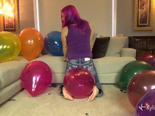 Mega Inch Balloon Sit Pop Kyile Jacobs