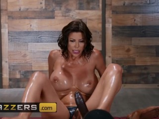 Brazzers – Alexis Fawx gives BBC a nuru massage