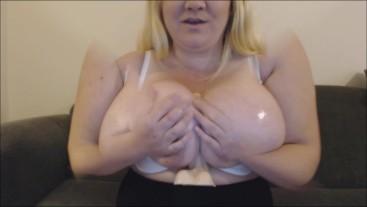 BBW Mocks Girlfriends Small Tits PREVIEW