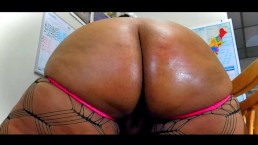 Thick Big Booty BBW Nirvana Lust Showing Off That Ass!