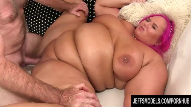 Fat ass blowjob - Fat cutie with big natural boobs sara star makes grandpa very happy