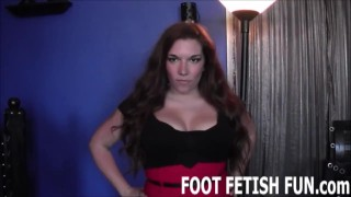 Femdom Foot Fetish And POV Domination Porn