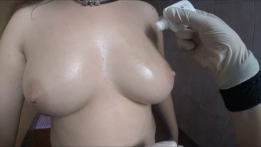 Boobs close up inspection POV