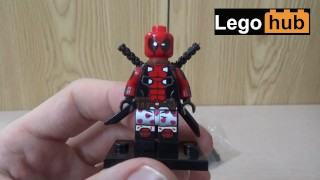 I came twice while making this video about Deadpool Lego minifigures