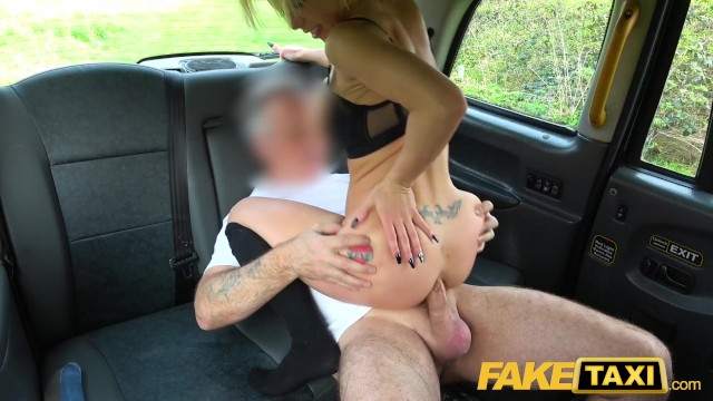 Sexy milf blowjob Fake taxi sexy blonde barbie sins gets anally stretched