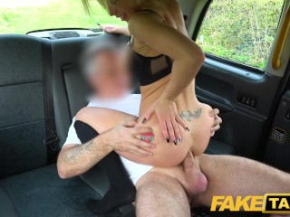 Fake Taxi Sexy blonde Barbie Sins gets anally stretched Barbie Sins