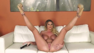 Big Tit Blonde Brooklyn Chase Loves Being Harshly Fucked More Than Anything