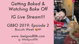 Getting Baked & Watching Bake Off LIVE! 2019 Ep 2 + Cat Cuddles & Kisses