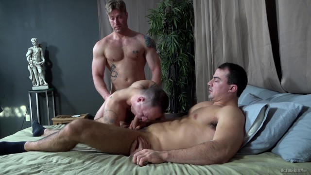 Ashley gay richard - Activeduty fresh recruit spitroast