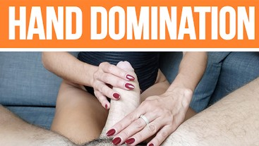 POV Milf Hand Domination (RED NAILS)