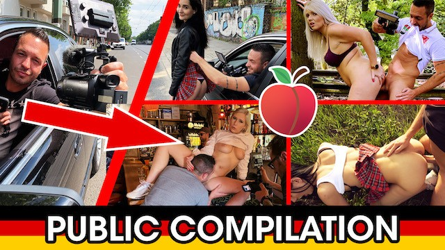 Blonde and brunette fucking - Epic german public fuck date compilation 2019 dates66