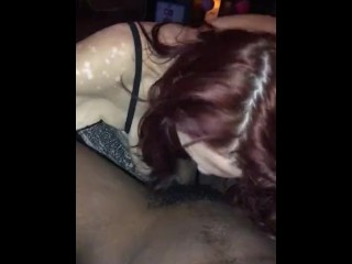 I want to wear your cum on my face