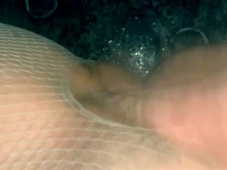 Amateur homemade-  fingering wife's tight pussy  till she squirts