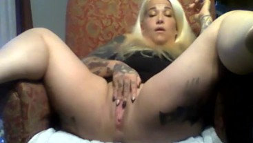 Whole Video of Black Dildo Play in the Kitchen...