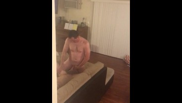 New guy from bar, getting ready to fuck asian hotwife, handjob gets em hard
