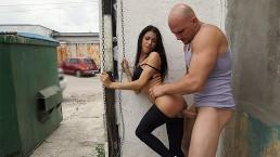 BANGBROS - Young & Petite Latina Veronica Rodriguez Wrecked By J-mac