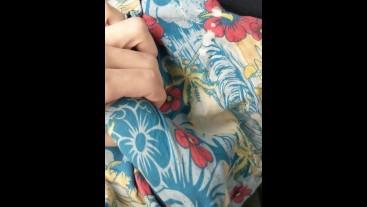Stroking Bulge in Public/Car
