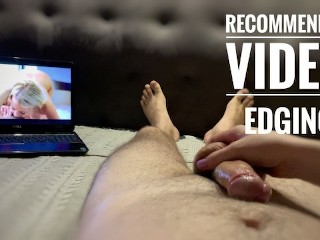 Hot squirming pleasure and post orgasm torture Playing cockhero