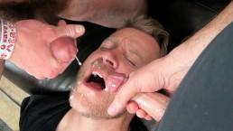 Double Dose + Cum as Lube + Cum Eating Men - Aaron & Seth + Walker Michaels