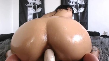 OILED UP ANAL AND CREAMPIE