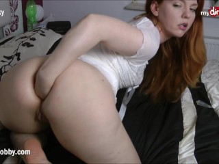 MyDiobby Little Nicky hot solo anal fisting