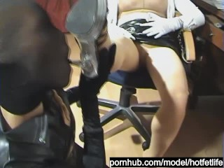 Nylon Robbery Fetish and Fuck of the Pantyhose Encasement Slut - Part 1