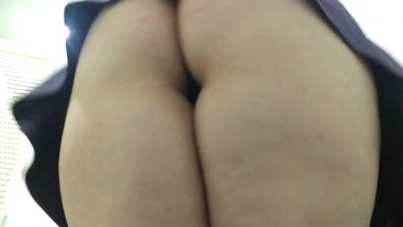 BBW PAWG Mini Dress Upskirt Tease Preview Trailer