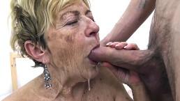 horny 89 years old mom deep fucked