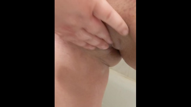 Fingering my Girl in Shower until she Cums Multiple Times