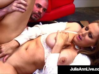 Big Titty Teacher Julia Ann Sucks Fucks Her Hard Student Julia Ann