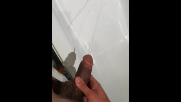 Hung football master chav pissing for horny sub (floppy 17cm)