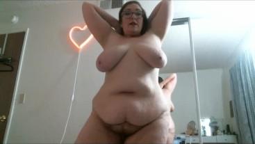 Cute Big Tit BBW Live Cam Show Recording No Sound