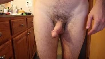 Undressing for Shower