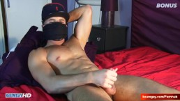 masculine str8 french firefighter gets wanked by a guy in spite of him