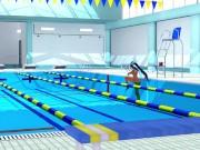 POKEMON Nessa Inside pool 3d hentai