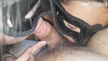 Part 7/8 barista 3som: pinay teem sucks cock while my friend sucks balls