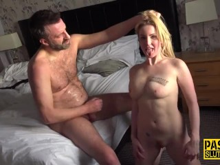 Eaten out fetish sub gets banged and jizzed Georgie Lyall