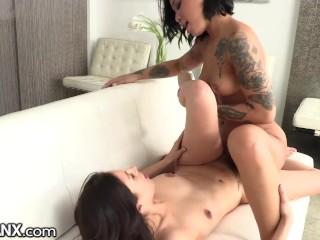 LesbianX Intense Tribbing Orgasms