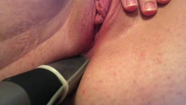 Ass fucked by giant toy on American girl