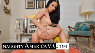 Naughty America Katrina Jade gives you a private swimsuit show