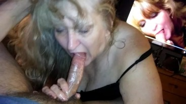 Sloppy Facefuck from my dads new girlfriend