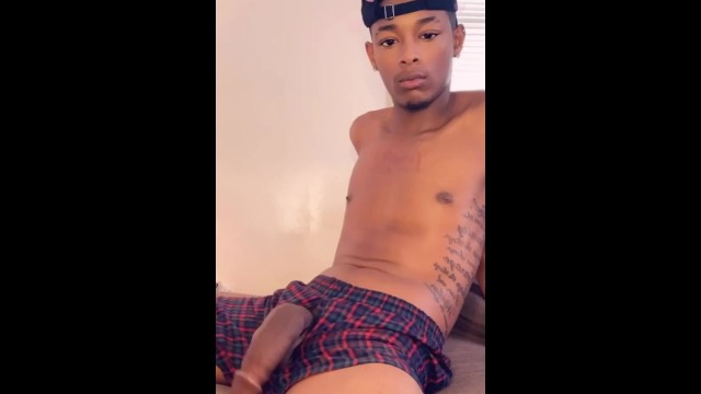 Gay bottoms in see throu panites - Jackin my dick thru my boxers