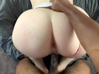 Sexy Redhead rough fucked by BBC • Amateur JayJadeMoon