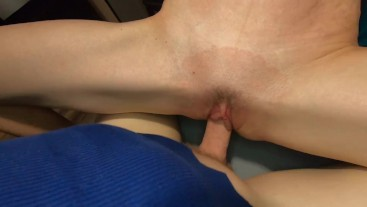 Fit Petite Big Tits Teen Rides Cock And Gets Pussy Covered With Cum