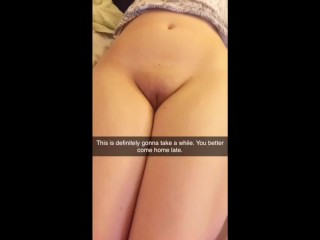 Snapchat Cuckold Collection Gangbang My Gf Sent Me They Got Her Pregnant
