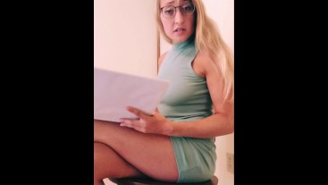 POV Pervy Peeping Tom Caught Checking Out College Girl (PREVIEW)