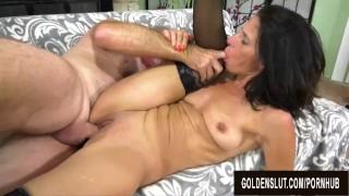 Slender Older Slut Keli Richards Enjoys Wild and Lusftul Mature Sex